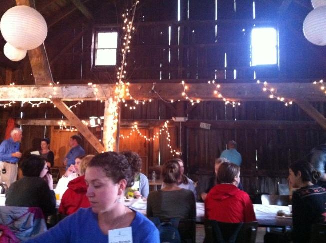 Breakfast in the Barn